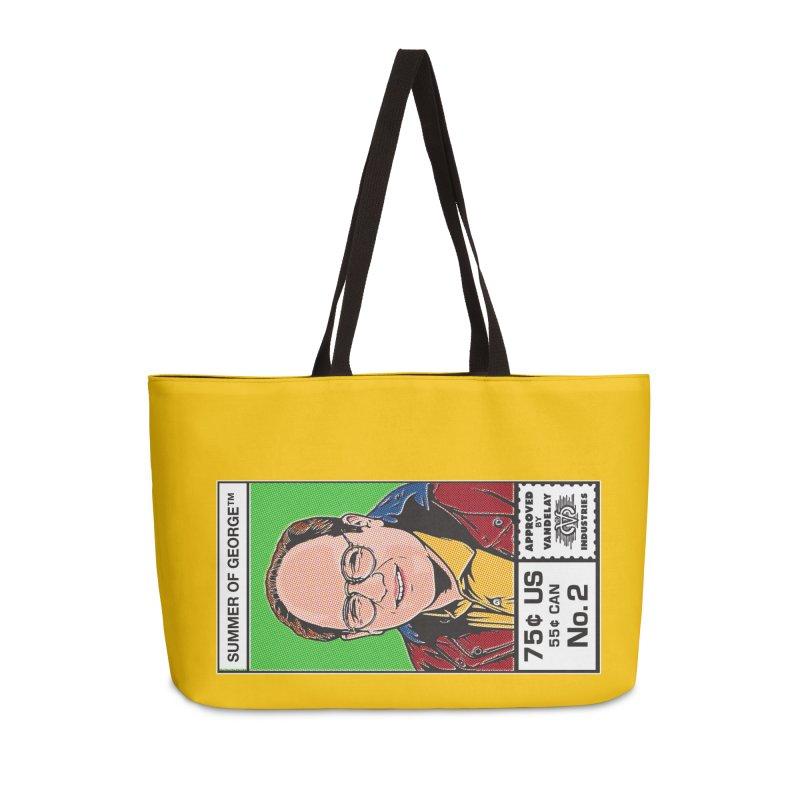 Summer Of George Accessories Weekender Bag Bag by Steve Dressler Illustration & Design