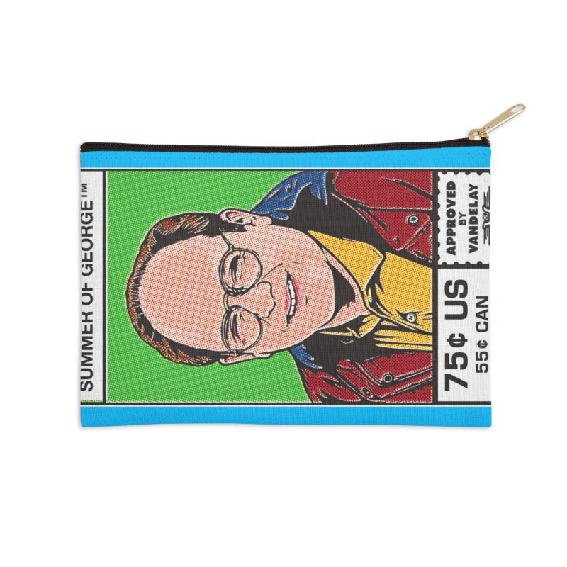 Summer Of George Accessories Zip Pouch by Steve Dressler Illustration & Design