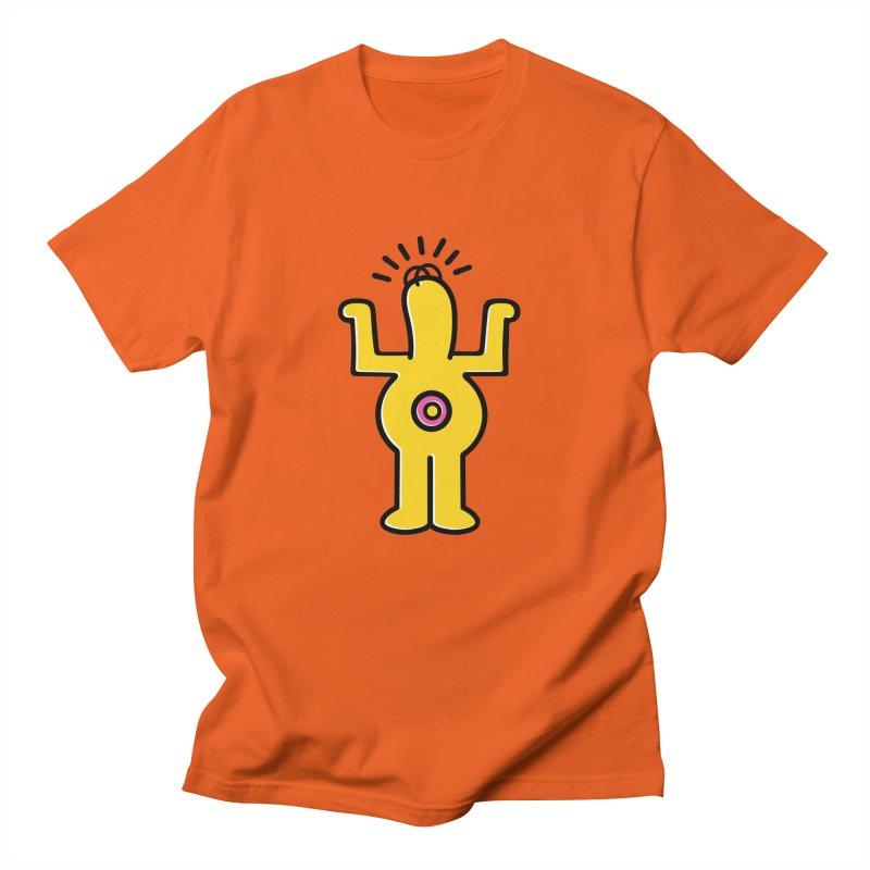 Woo-hoo! Men's Regular T-Shirt by Steve Dressler Illustration & Design