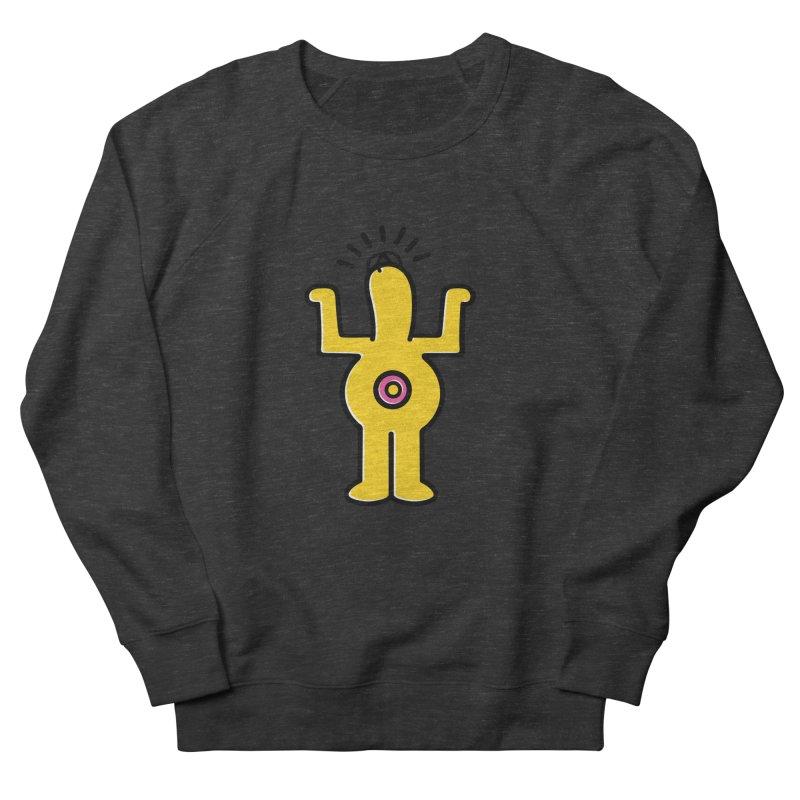 Woo-hoo! Men's French Terry Sweatshirt by Steve Dressler Illustration & Design