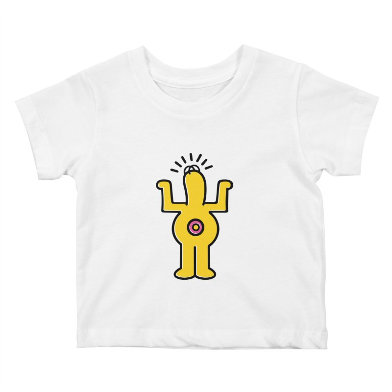 Woo-hoo! Kids Baby T-Shirt by Steve Dressler Illustration & Design
