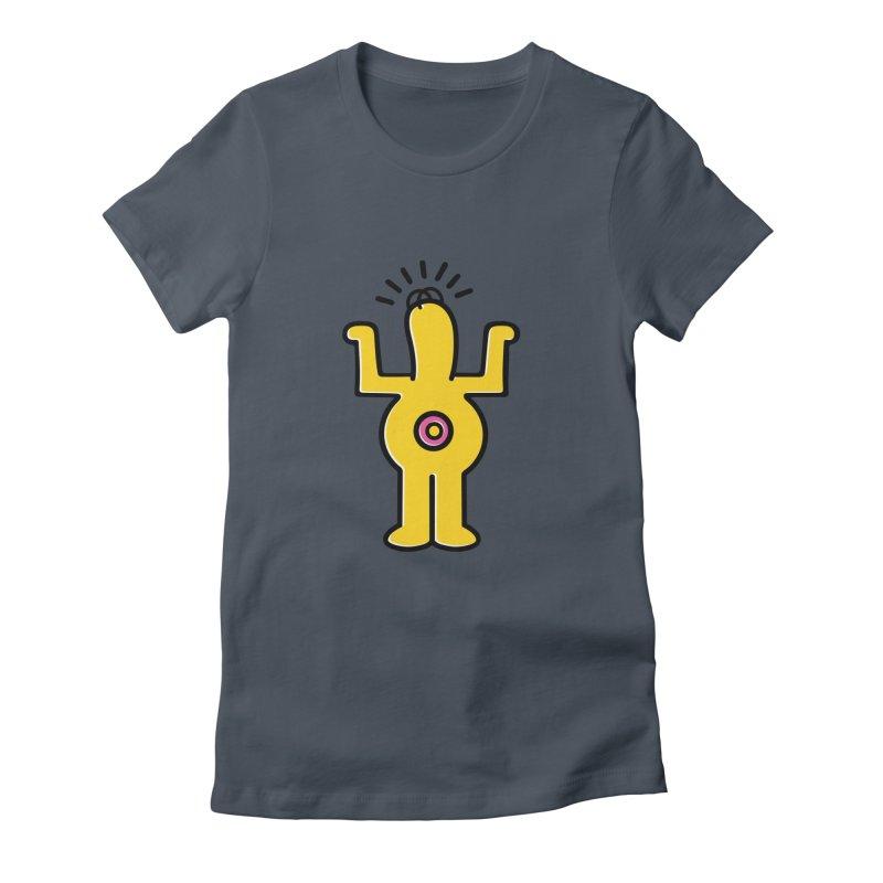 Woo-hoo! Women's T-Shirt by Steve Dressler Illustration & Design