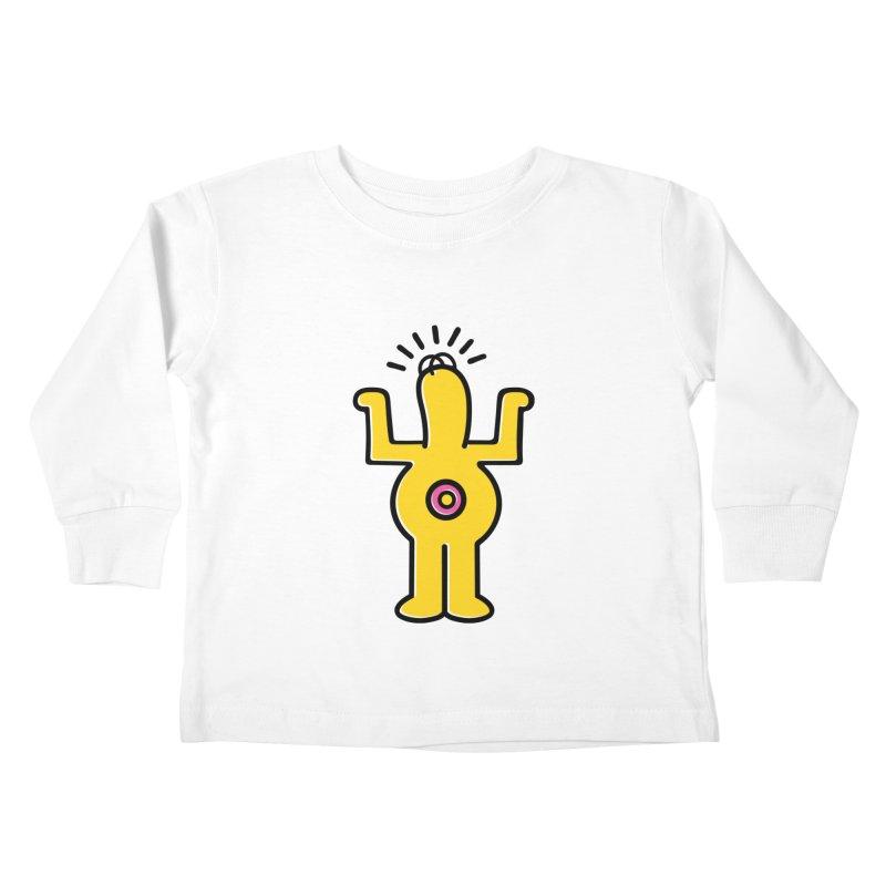 Woo-hoo! Kids Toddler Longsleeve T-Shirt by Steve Dressler Illustration & Design