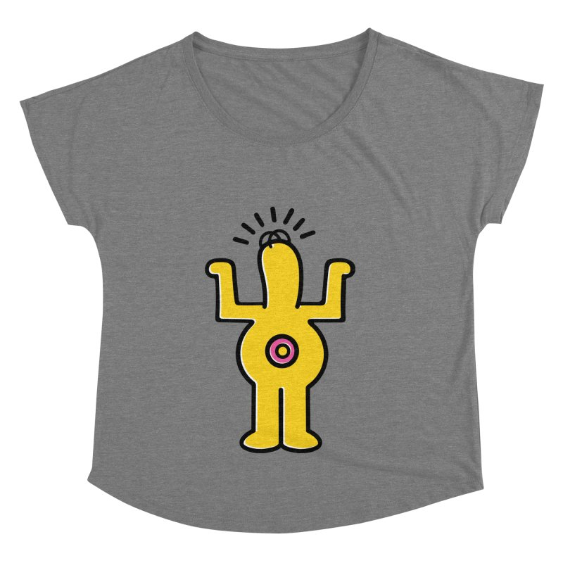 Woo-hoo! Women's Scoop Neck by Steve Dressler Illustration & Design