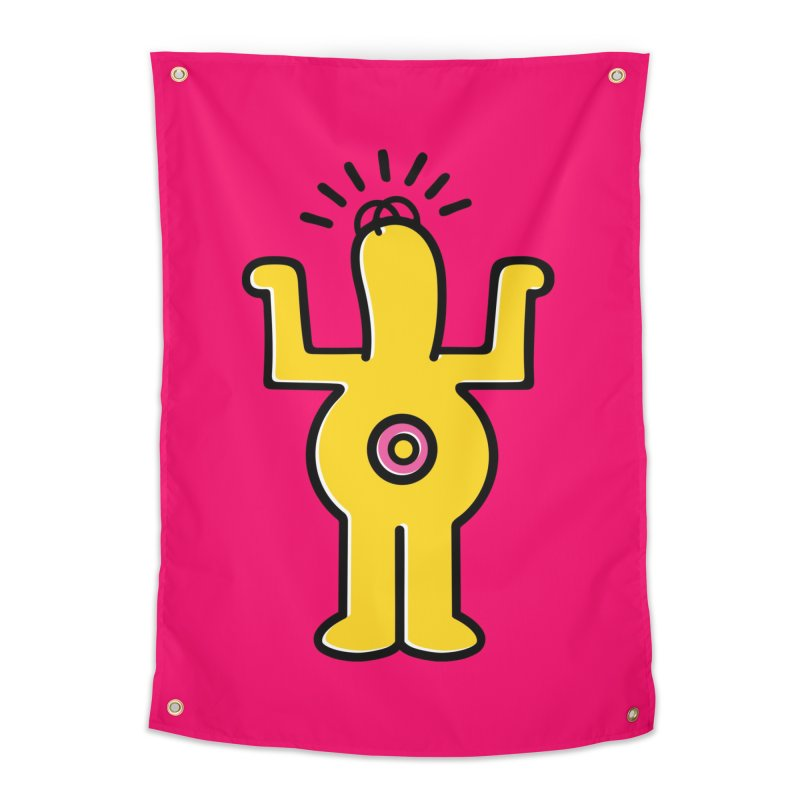 Woo-hoo! Home Tapestry by Steve Dressler Illustration & Design