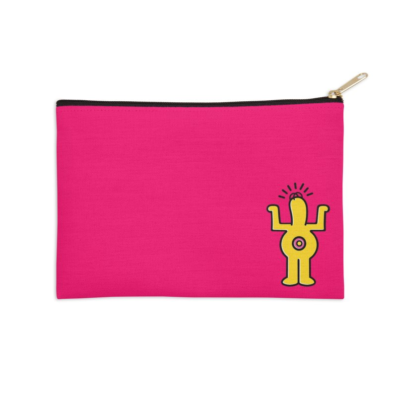 Woo-hoo! Accessories Zip Pouch by Steve Dressler Illustration & Design