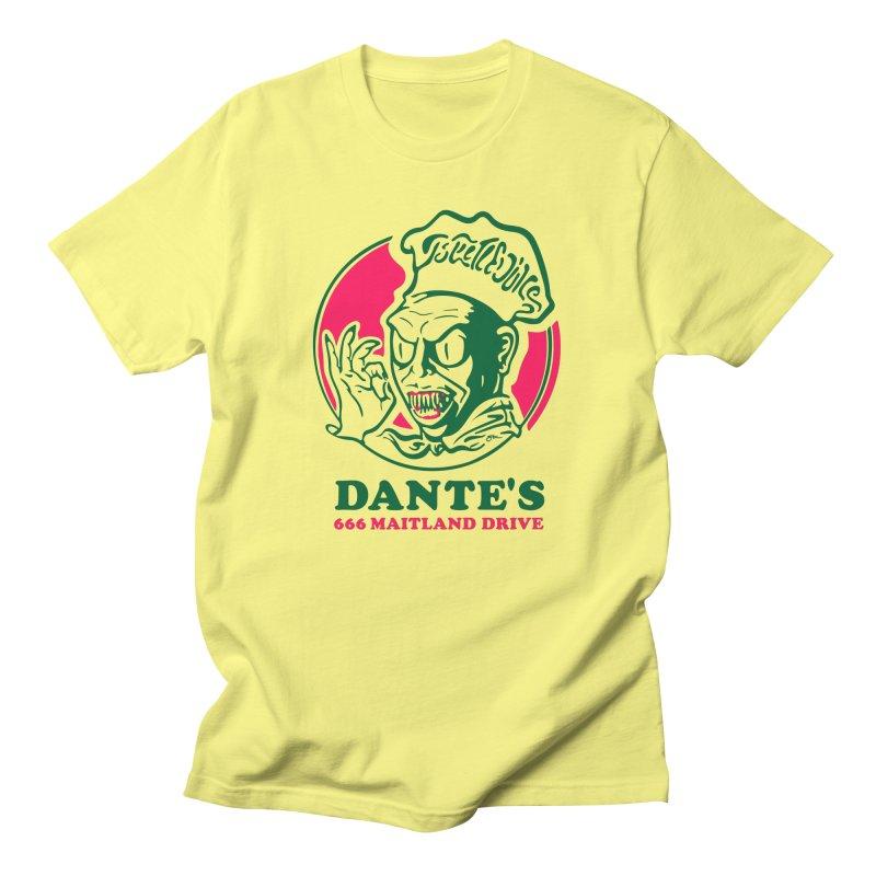 Dante's Men's T-Shirt by Steve Dressler Illustration & Design
