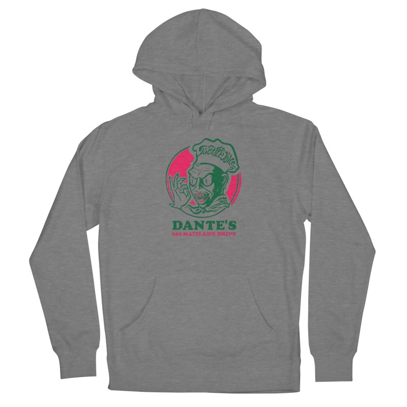 Dante's Women's Pullover Hoody by Steve Dressler Illustration & Design