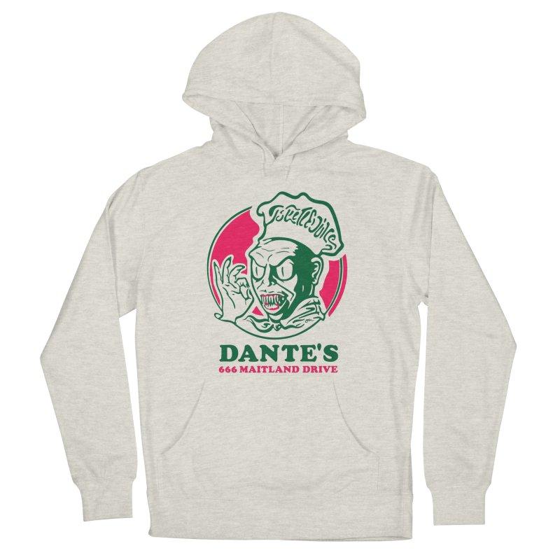 Dante's Women's French Terry Pullover Hoody by Steve Dressler Illustration & Design