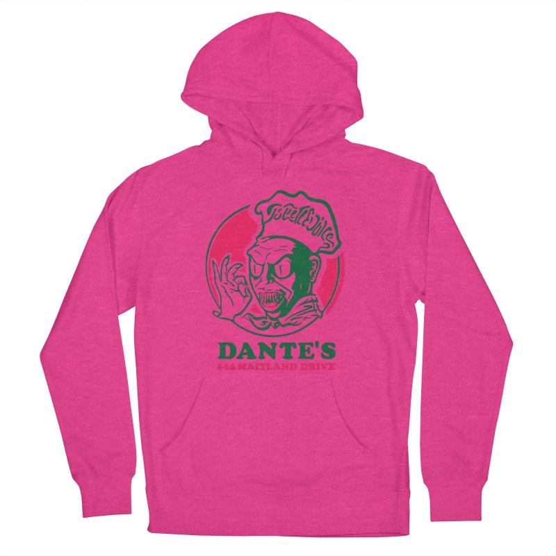 Dante's Men's French Terry Pullover Hoody by Steve Dressler Illustration & Design