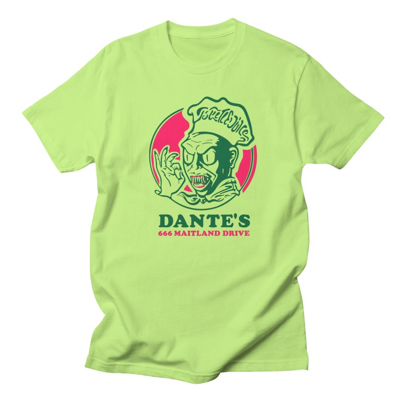 Dante's Men's Regular T-Shirt by Steve Dressler Illustration & Design