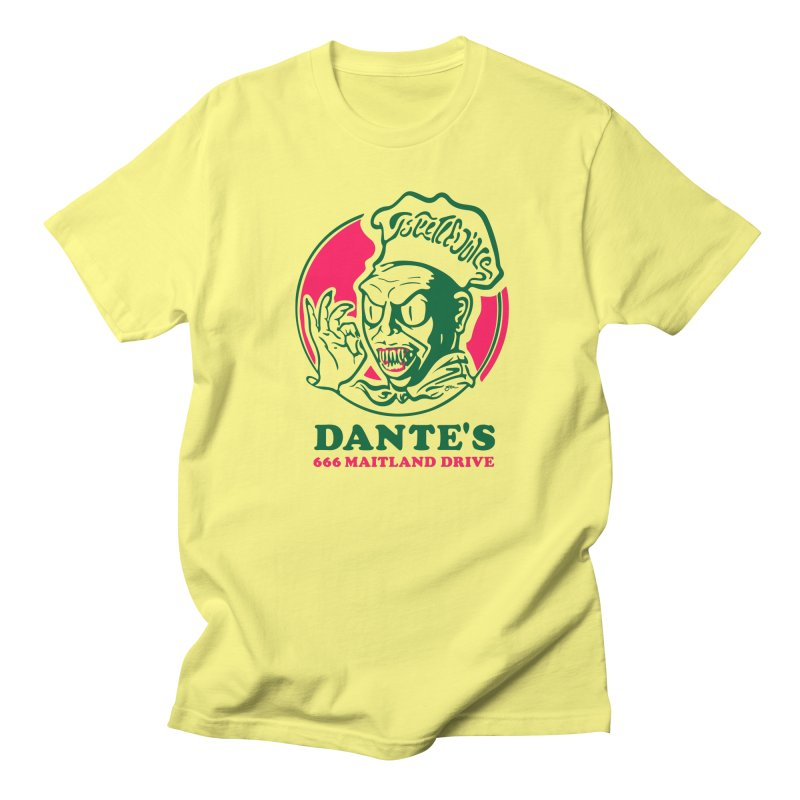 Dante's Men's T-Shirt by Steve Dressler Illustration & Design