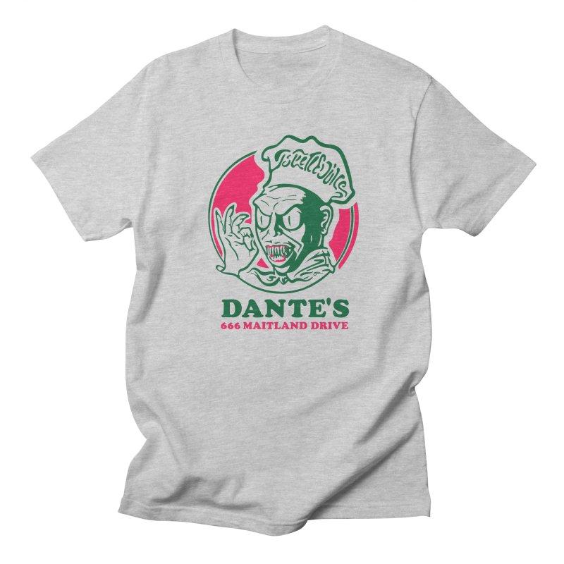 Dante's Men's Regular T-Shirt by Steve Dressler Illustration & Design