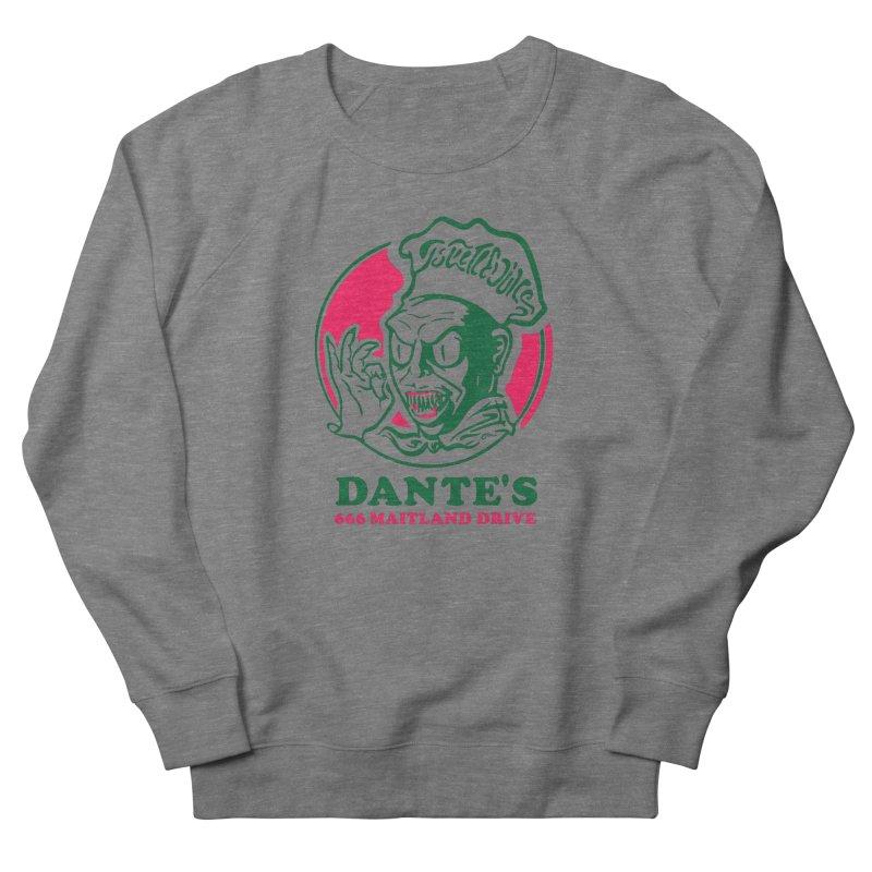 Dante's Women's French Terry Sweatshirt by Steve Dressler Illustration & Design