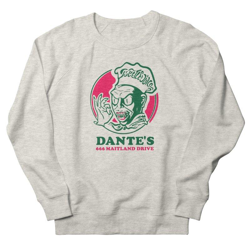 Dante's Men's French Terry Sweatshirt by Steve Dressler Illustration & Design