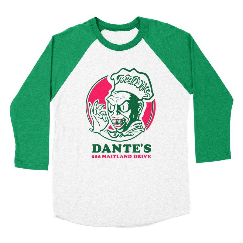 Dante's Women's Baseball Triblend Longsleeve T-Shirt by Steve Dressler Illustration & Design