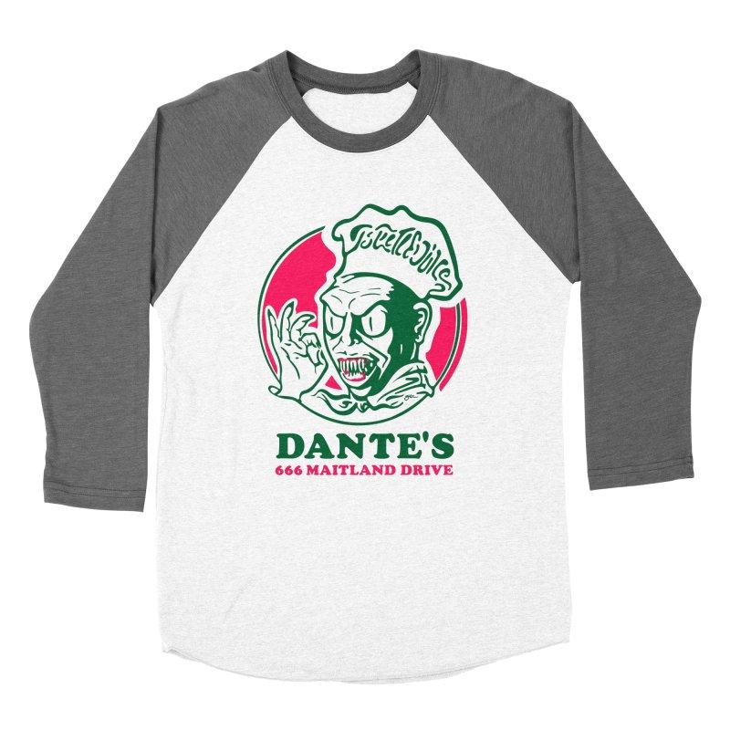 Dante's Men's Baseball Triblend Longsleeve T-Shirt by Steve Dressler Illustration & Design