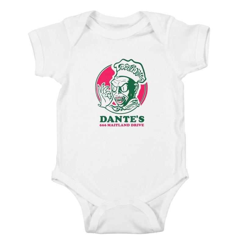 Dante's Kids Baby Bodysuit by Steve Dressler Illustration & Design