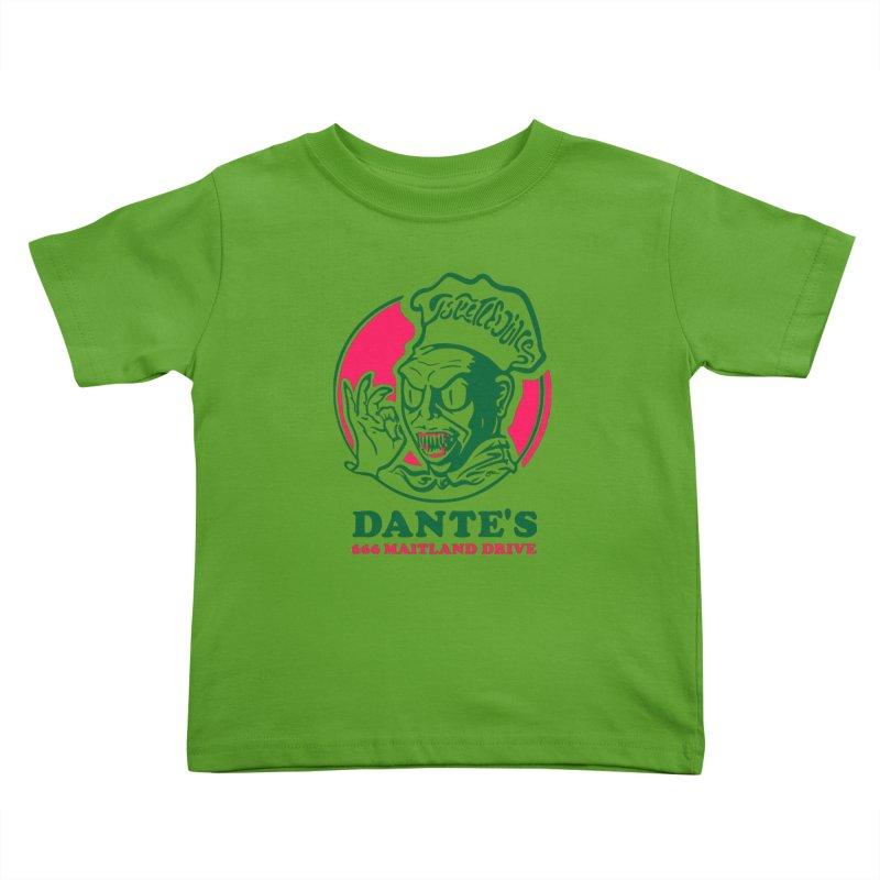 Dante's Kids Toddler T-Shirt by Steve Dressler Illustration & Design
