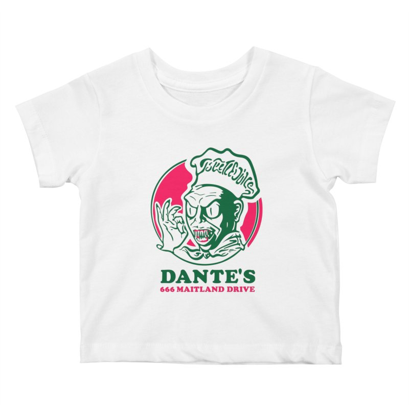 Dante's Kids Baby T-Shirt by Steve Dressler Illustration & Design