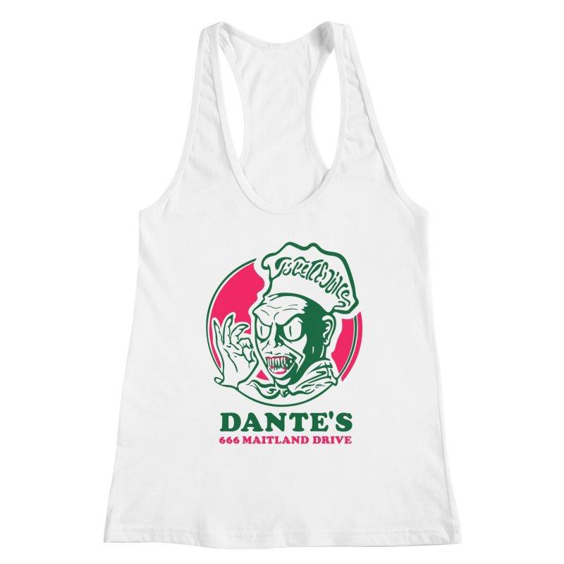 Dante's Women's Tank by Steve Dressler Illustration & Design