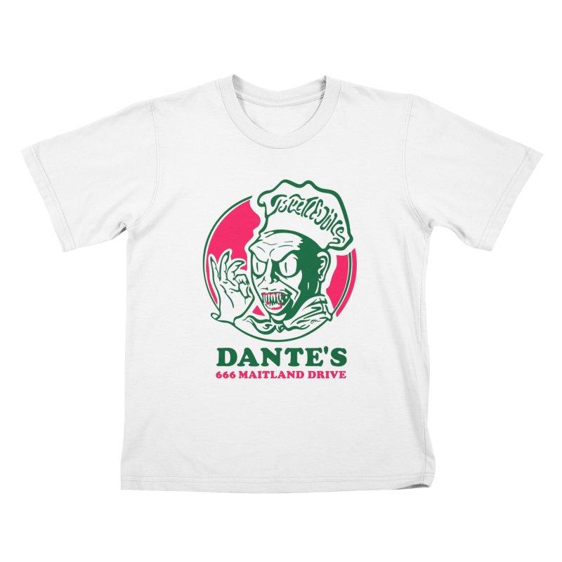 Dante's Kids T-Shirt by Steve Dressler Illustration & Design