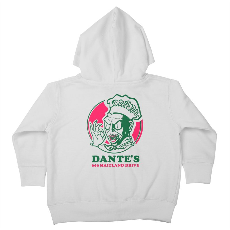Dante's Kids Toddler Zip-Up Hoody by Steve Dressler Illustration & Design