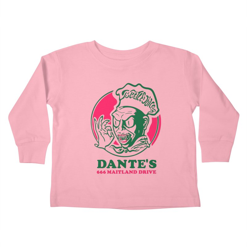 Dante's Kids Toddler Longsleeve T-Shirt by Steve Dressler Illustration & Design