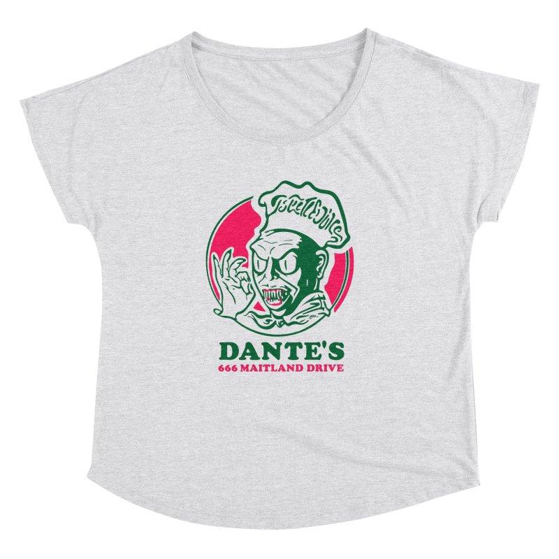 Dante's Women's Dolman Scoop Neck by Steve Dressler Illustration & Design