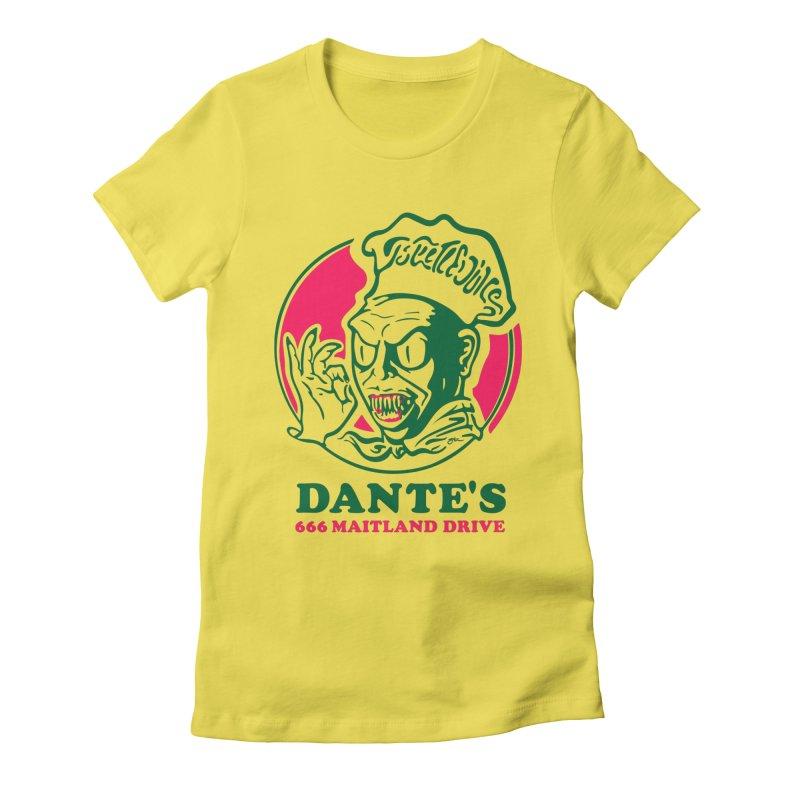 Dante's Women's T-Shirt by Steve Dressler Illustration & Design