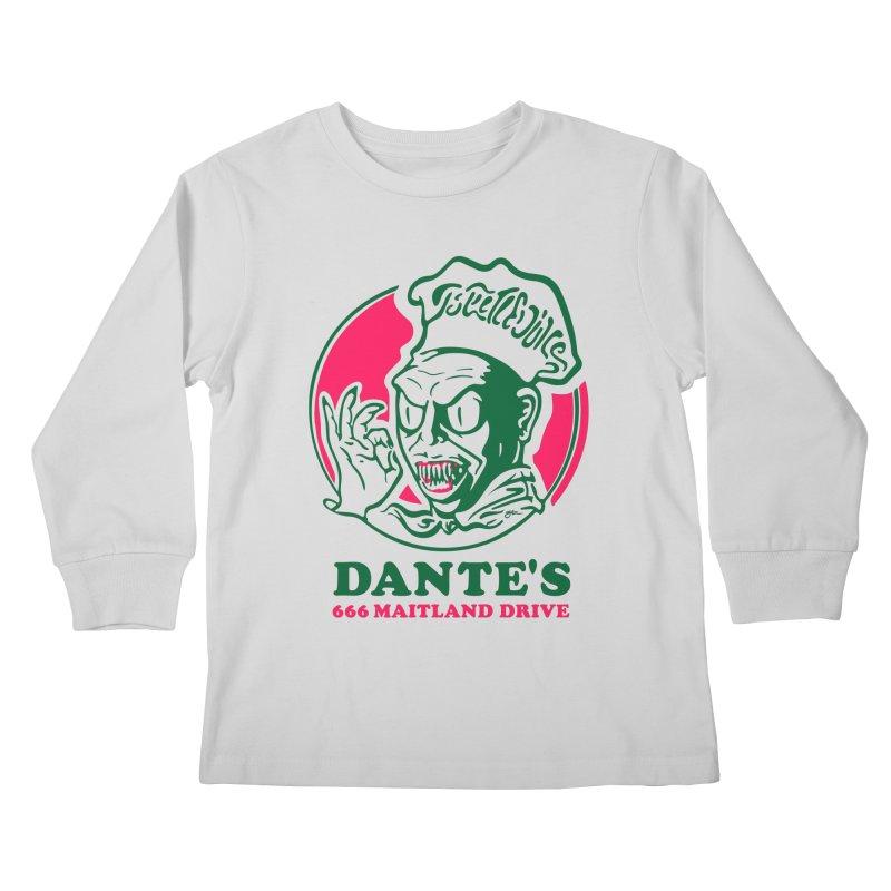 Dante's Kids Longsleeve T-Shirt by Steve Dressler Illustration & Design