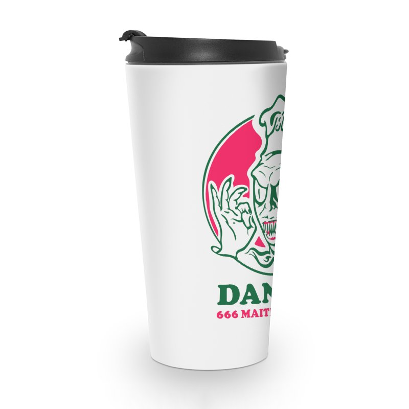 Dante's Accessories Travel Mug by Steve Dressler Illustration & Design