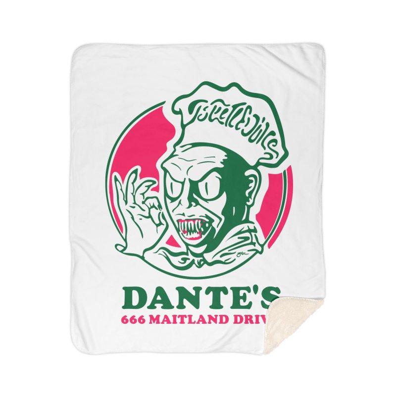 Dante's Home Blanket by Steve Dressler Illustration & Design