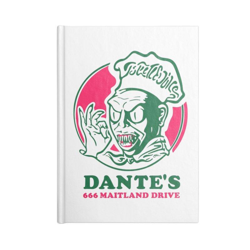 Dante's Accessories Lined Journal Notebook by Steve Dressler Illustration & Design