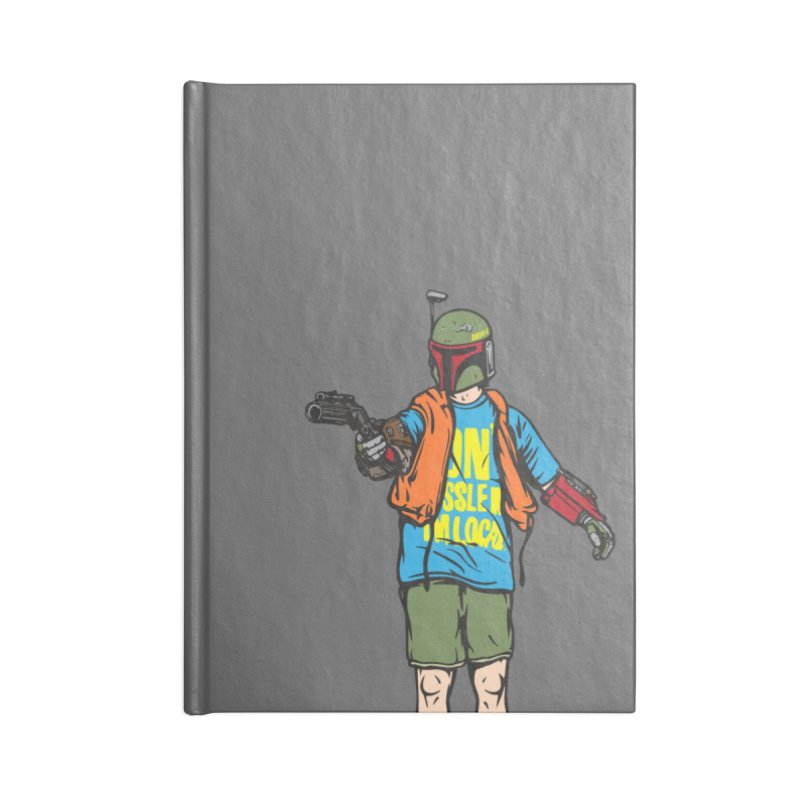 What About Boba? Accessories Lined Journal Notebook by Steve Dressler Illustration & Design