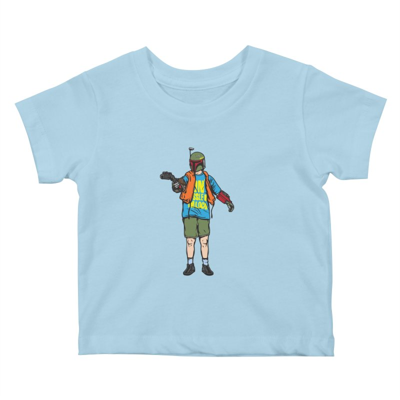 What About Boba? Kids Baby T-Shirt by Steve Dressler Illustration & Design
