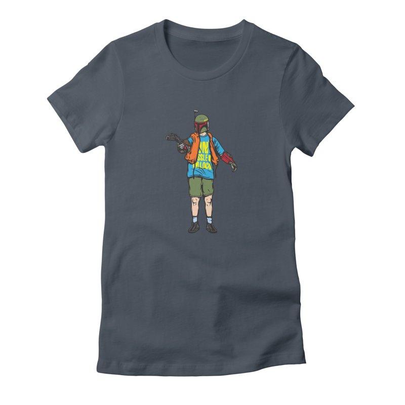 What About Boba? Women's T-Shirt by Steve Dressler Illustration & Design