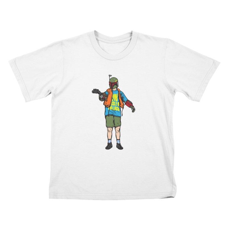 What About Boba? Kids T-Shirt by Steve Dressler Illustration & Design