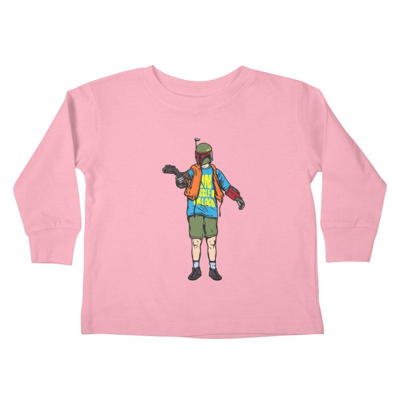 What About Boba? Kids Toddler Longsleeve T-Shirt by Steve Dressler Illustration & Design