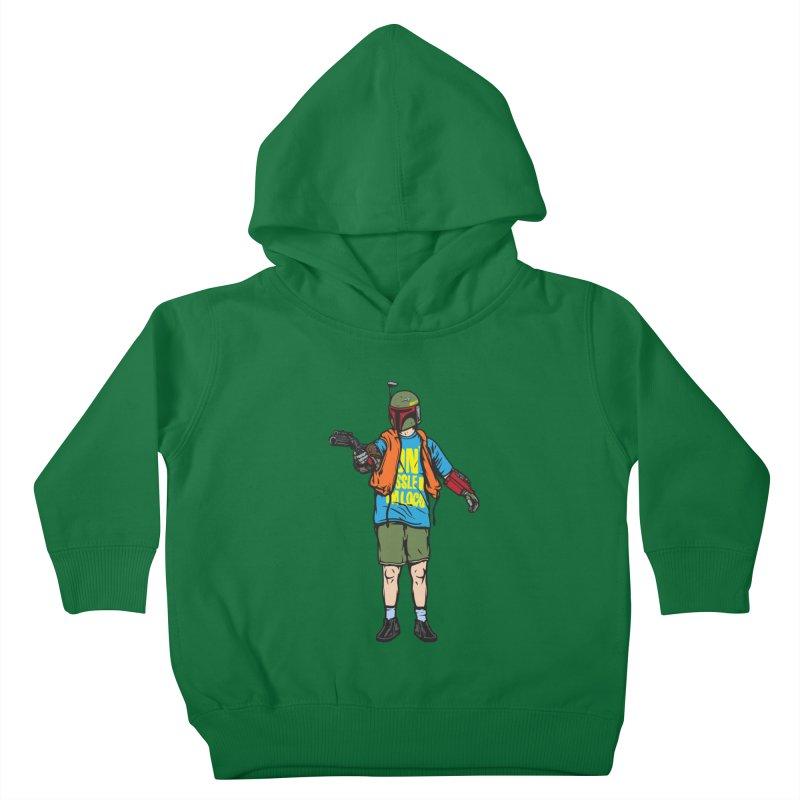 What About Boba? Kids Toddler Pullover Hoody by Steve Dressler Illustration & Design