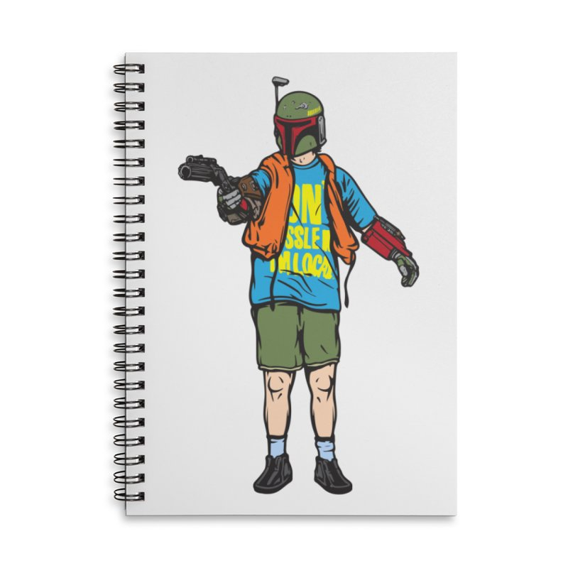 What About Boba? Accessories Lined Spiral Notebook by Steve Dressler Illustration & Design