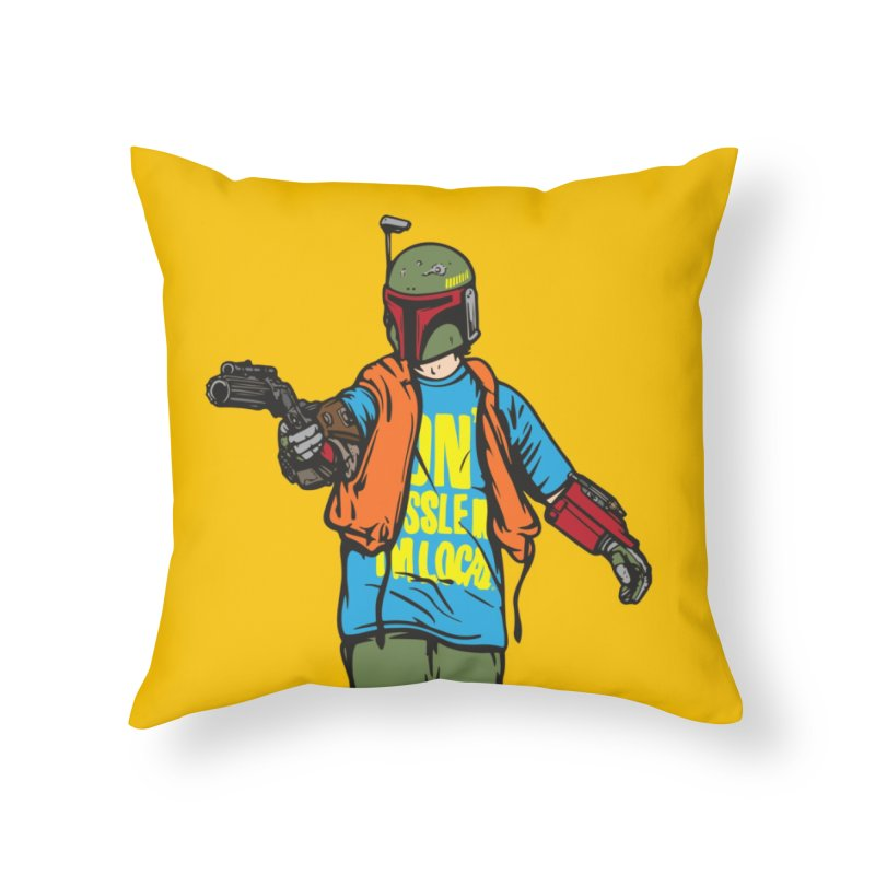 What About Boba? Home Throw Pillow by Steve Dressler Illustration & Design