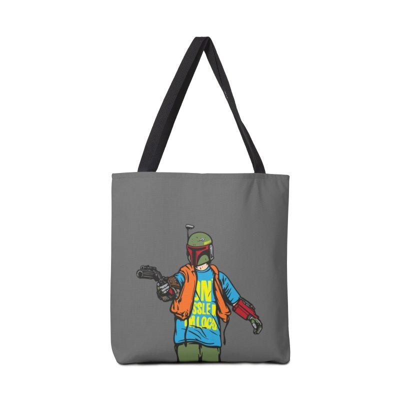 What About Boba? Accessories Bag by Steve Dressler Illustration & Design