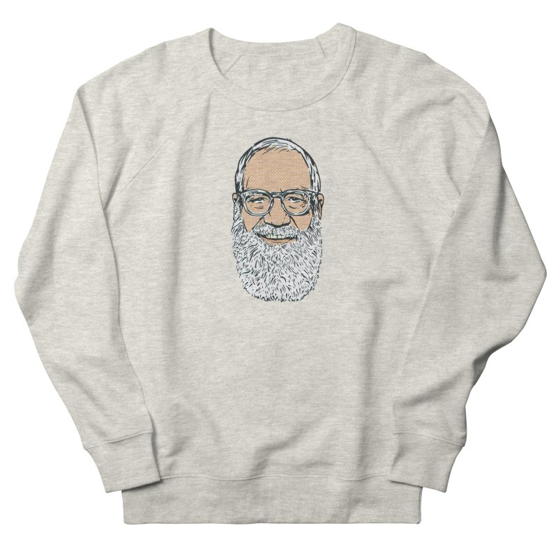 Old Dave Women's French Terry Sweatshirt by Steve Dressler Illustration & Design