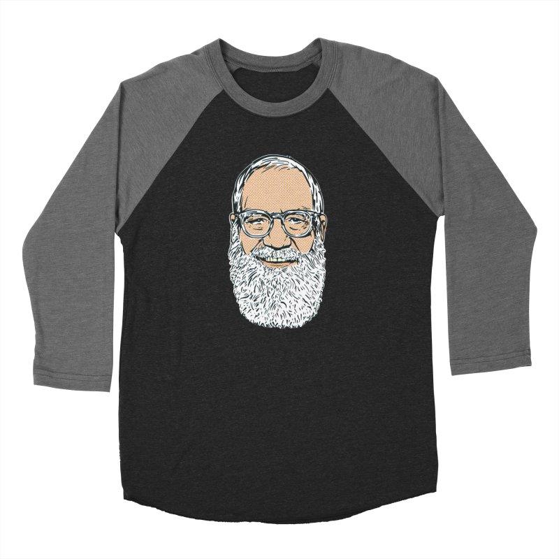Old Dave Men's Baseball Triblend Longsleeve T-Shirt by Steve Dressler Illustration & Design