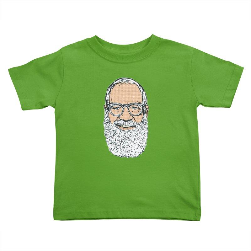 Old Dave Kids Toddler T-Shirt by Steve Dressler Illustration & Design