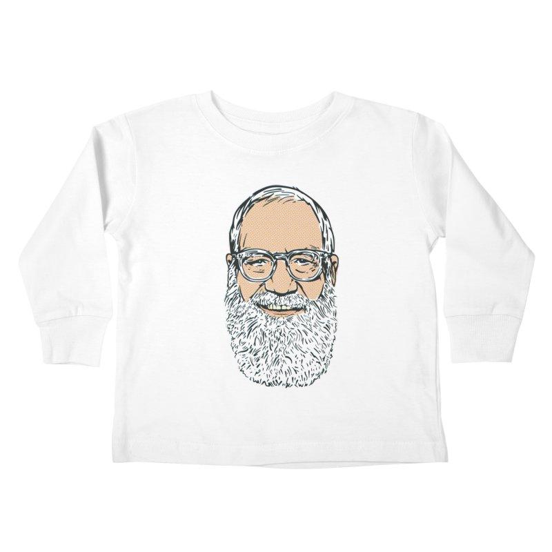 Old Dave Kids Toddler Longsleeve T-Shirt by Steve Dressler Illustration & Design