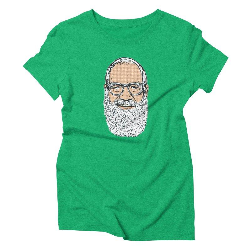 Old Dave Women's Triblend T-Shirt by Steve Dressler Illustration & Design