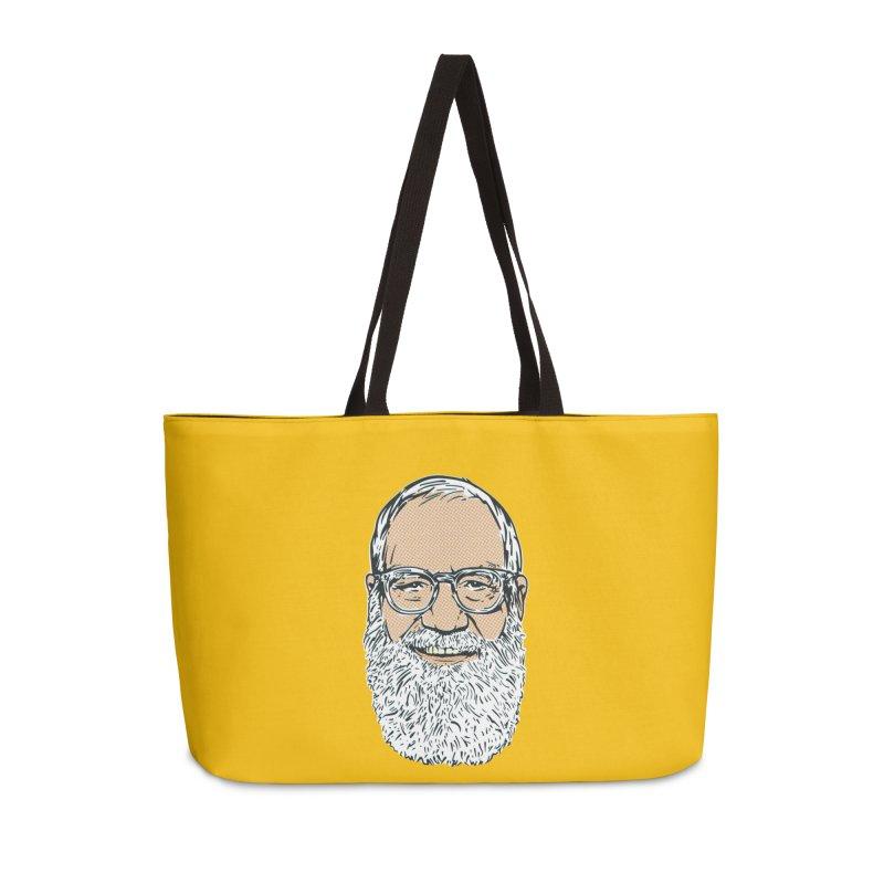 Old Dave Accessories Weekender Bag Bag by Steve Dressler Illustration & Design