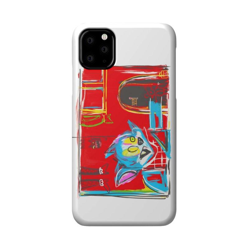 Cat & Mouse Accessories Phone Case by Steve Dressler Illustration & Design